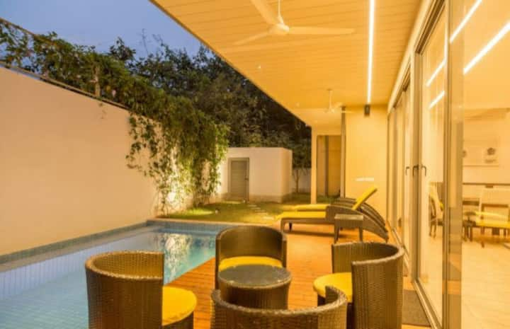 2 bhk @ Arpora with swimming pool