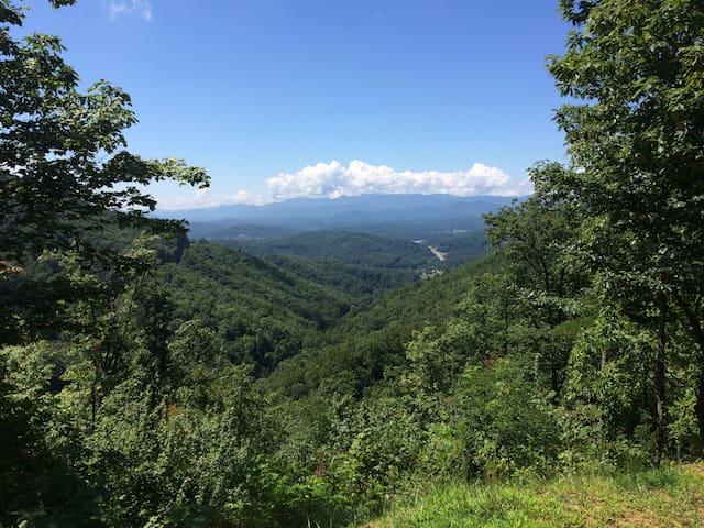 The View!Must drive 4-wheel drive. - Franklin - Casa de campo