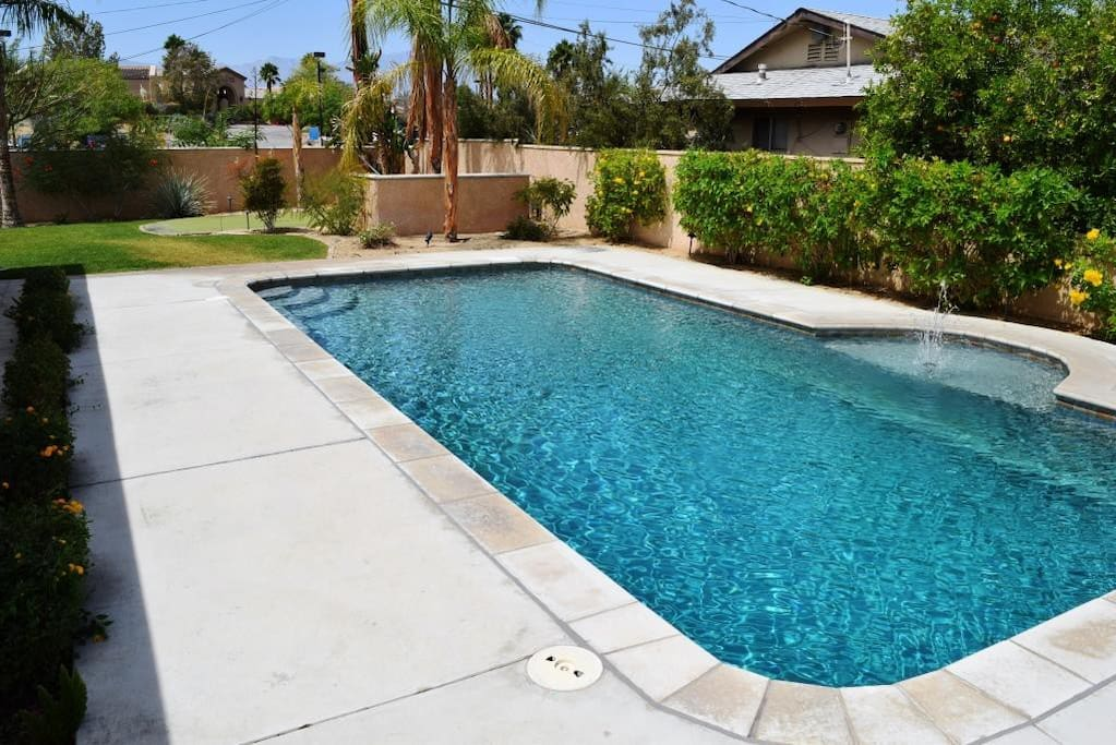 Private pool on largest corner lot
