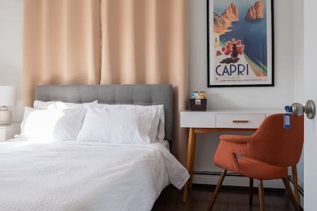 ★ CLEAN, SUNNY & MODERN ★ heart of Federal Hill