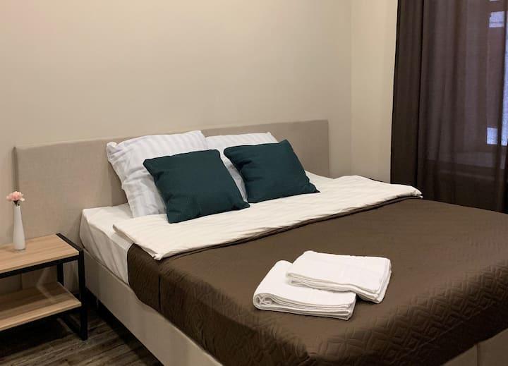 Улучшенный двухместный номер в Nice Hostel Иваново