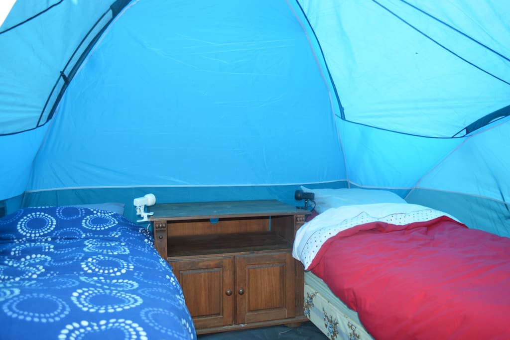 Shared Tent Bedroom