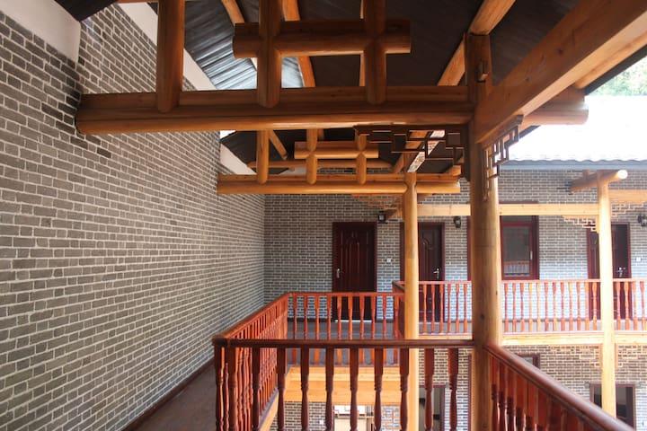 乌川湖风景区原始森林腹地的四合院 - 长沙县 - Huis