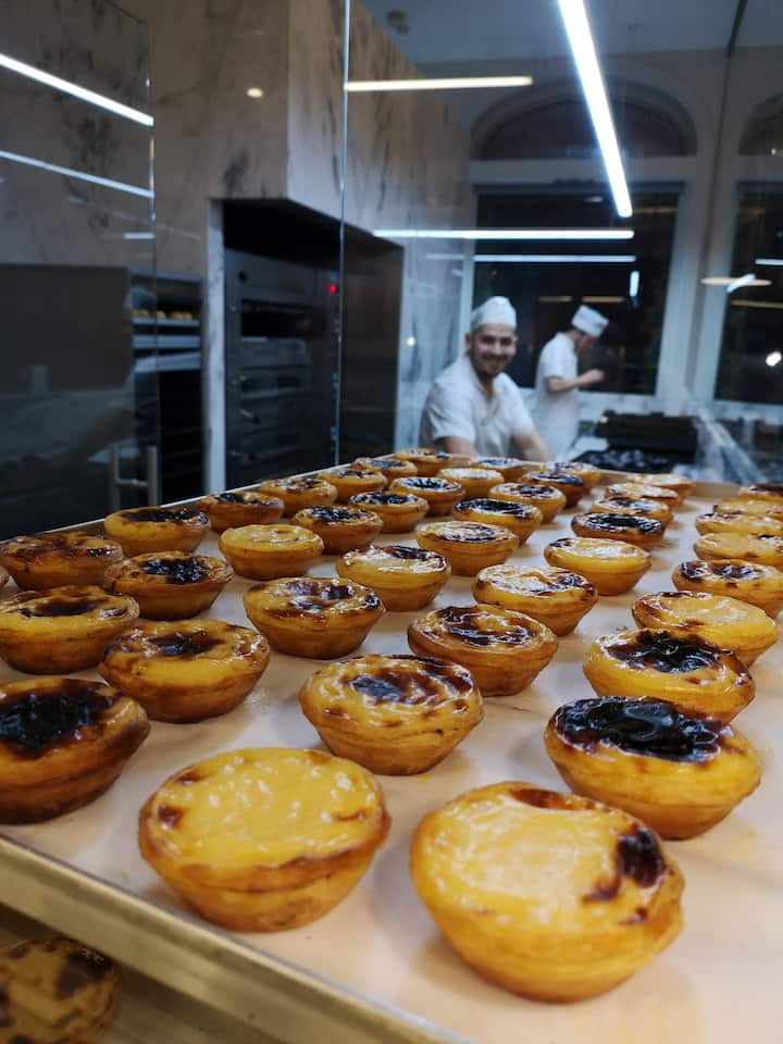 Best Pastel Nata in Portugal...