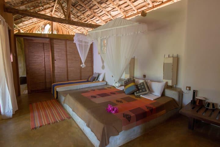 Eco-Cottage Farm Stay w/ Ayurveda & Lagoon access