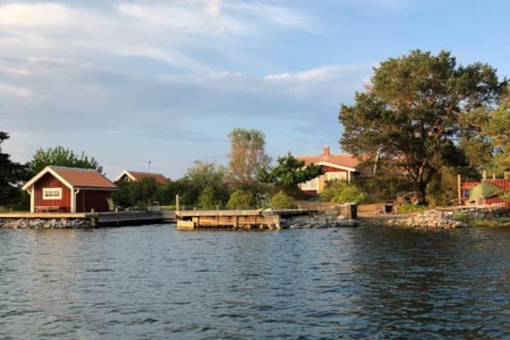 Private island in the archipelago of Västervik