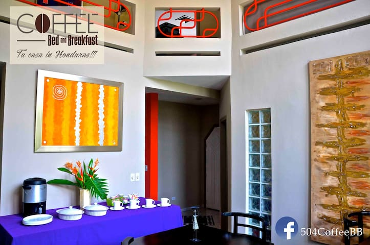 Coffee Bed & Breakfast - San Pedro Sula - Bed & Breakfast