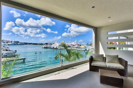 ★ MODERN LAGOON VIEW 1BR WITH A TERRACE ★ - Cole Bay - อพาร์ทเมนท์