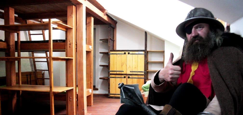 Hostel Housův mlýn - Tábor - Dormitorio compartido