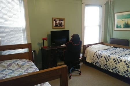 Spacious rooms near many attractions.  Warm family