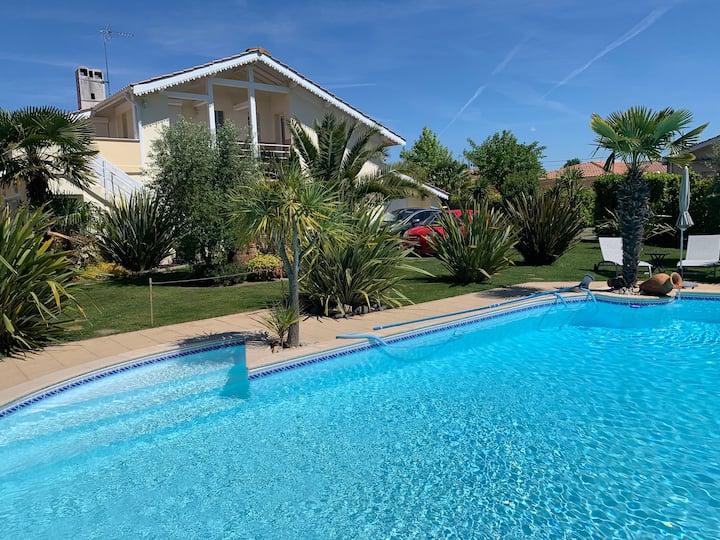 Appartement 2 pièces / piscine bassin d'Arcachon.