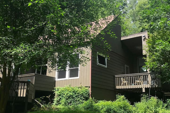Secluded Mid-Century in Woodstock, Best Location