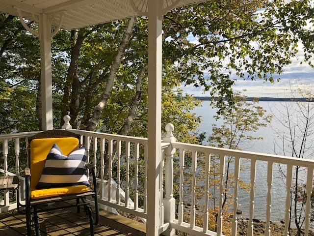 Oceanfront home in Northport, Maine - UPDATED!