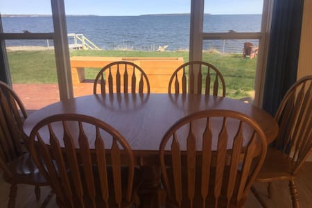 Oceanfront cottage on Cocagne Bay - Grande-Digue