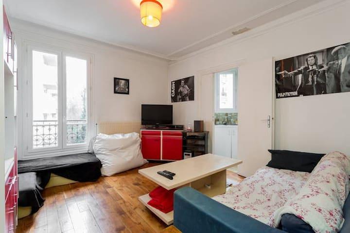 Cosy & Convivial - Paris 14eme - Paris - Apartamento