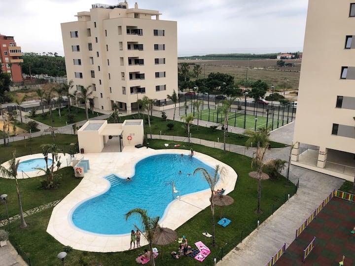 Apartamento nueva construcción, playa piscina