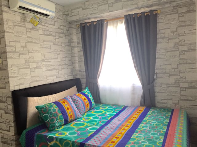 New Design 2BR+Wifi at KelapaGading - Kelapa Gading - Huoneisto