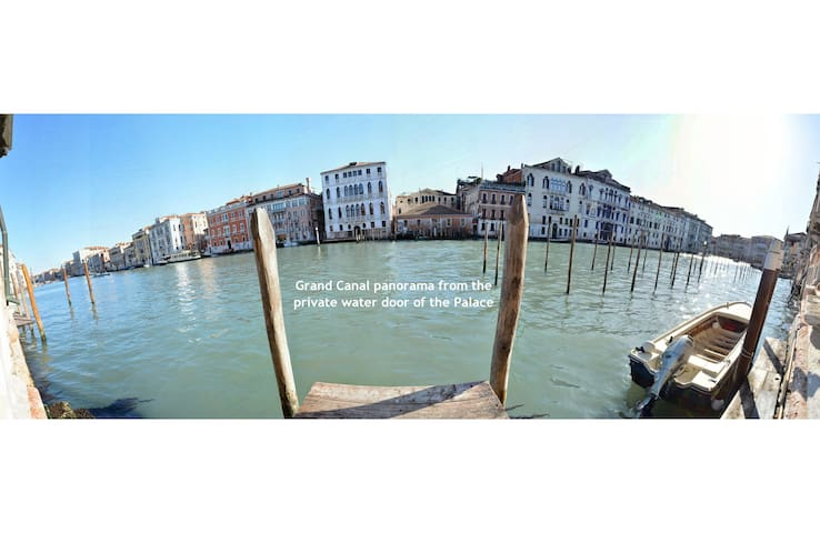 GRAND CANAL PANORAMIC VIEW luxury 4pax aircnd Wifi - Venezia - Apartment