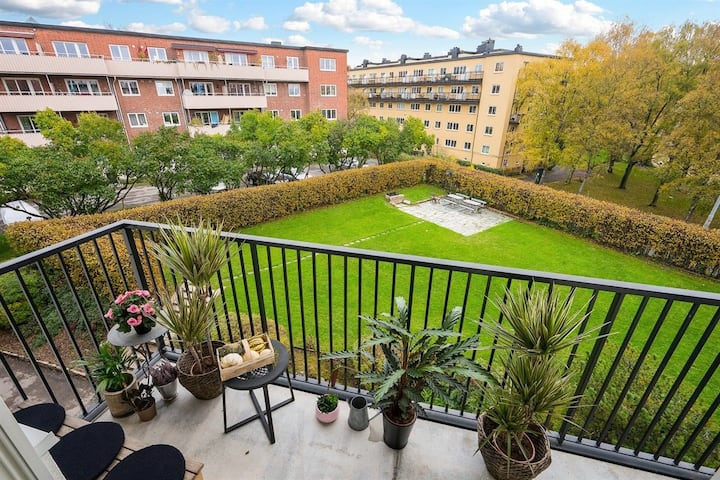 Cozy, modern place with close proximity to Oslo C.