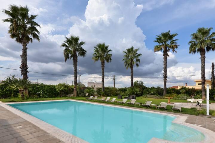 Cosy Apartment in Gagliano del Capo with Swimming Pool