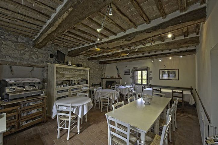 Casa padronale del Campasorbi - Piloni - Huis