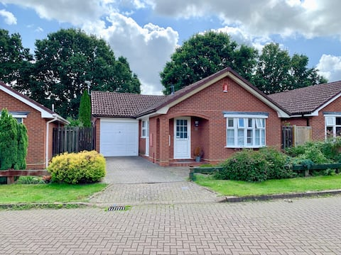 Refurbished bungalow on the edge of the New Forest
