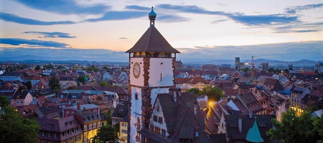 Freiburg City Center Apartment