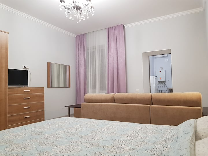 1. Apartment in the center of Pyatigorsk