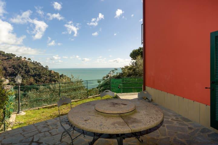 Romantic and modern villa with Amazing view. - Zoagli - Villa