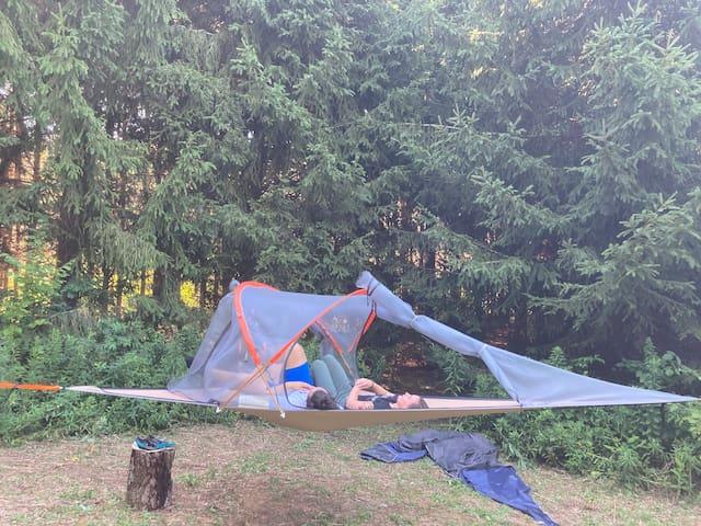 "Camp SkyTent ""Star Gazer"" Farm Manor Experience"