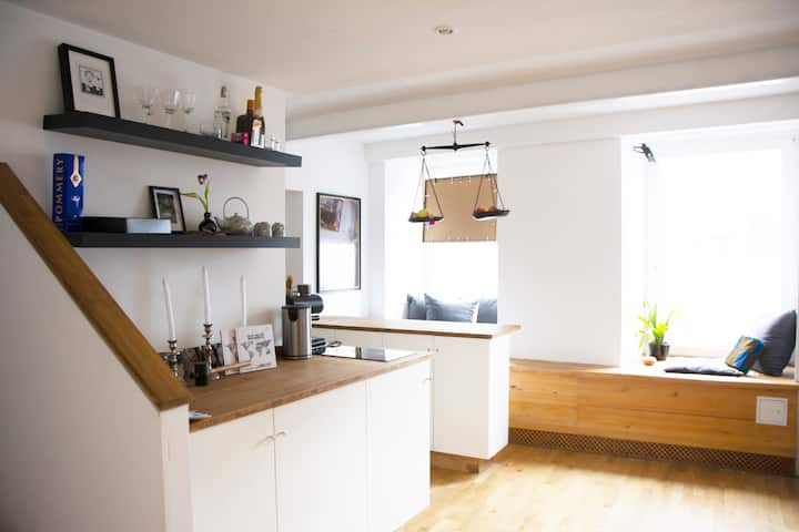 Studio-Apartment auf 2 Ebenen (Homeoffice/Atelier)