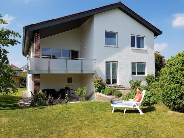 Bodensee Region Nord Haus mit grossem Garten