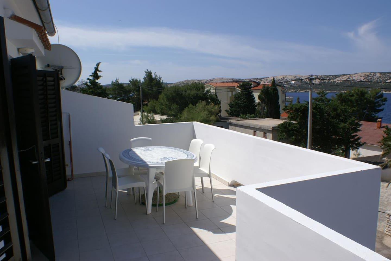 Terrace 1, Surface: 21 m²