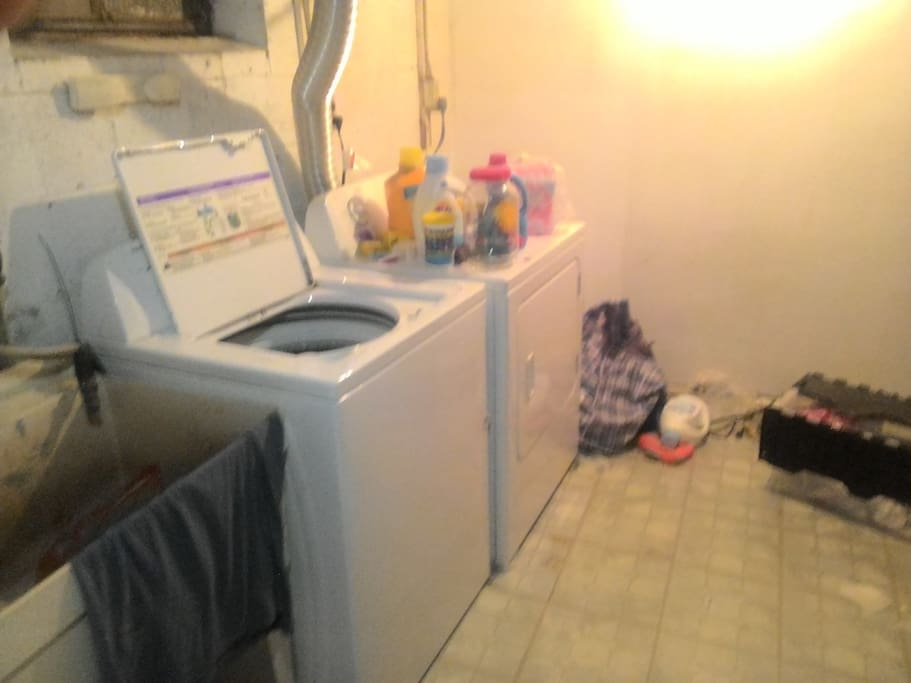 Washer and Dryer Avaliable and Operational