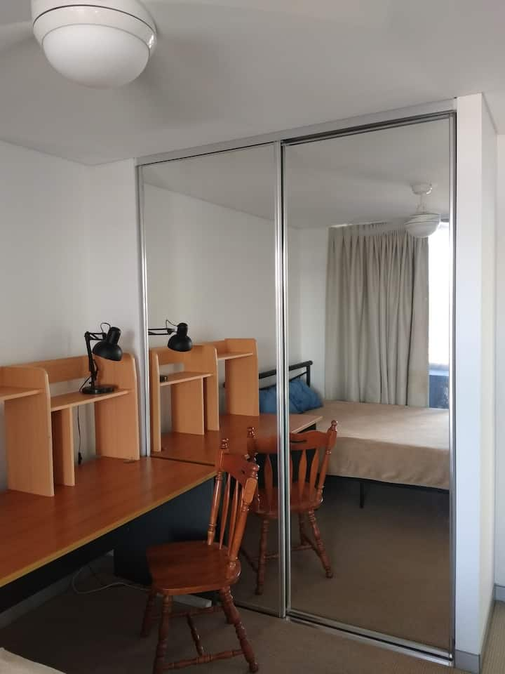 30+ days stay Only.  Nice room with sea view.
