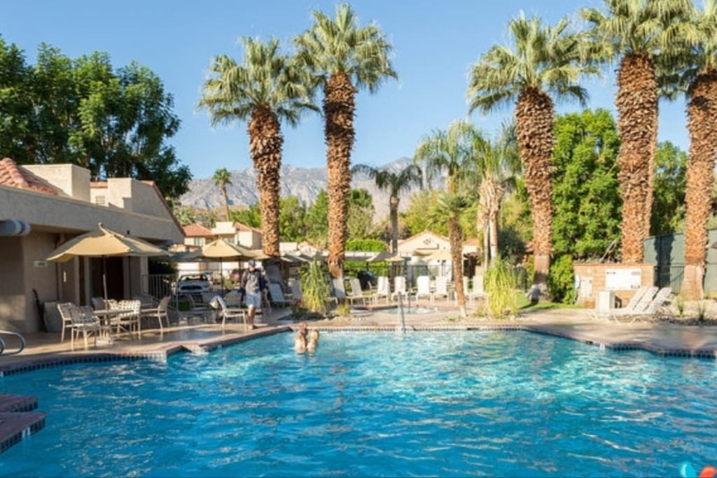 Gorgeous Oasisresortcondo Sleeps6 Condominiums For Rent In Palm Springs California United States