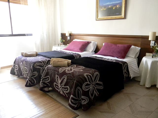 Centric double room + breakfast 1 - Granada - Casa