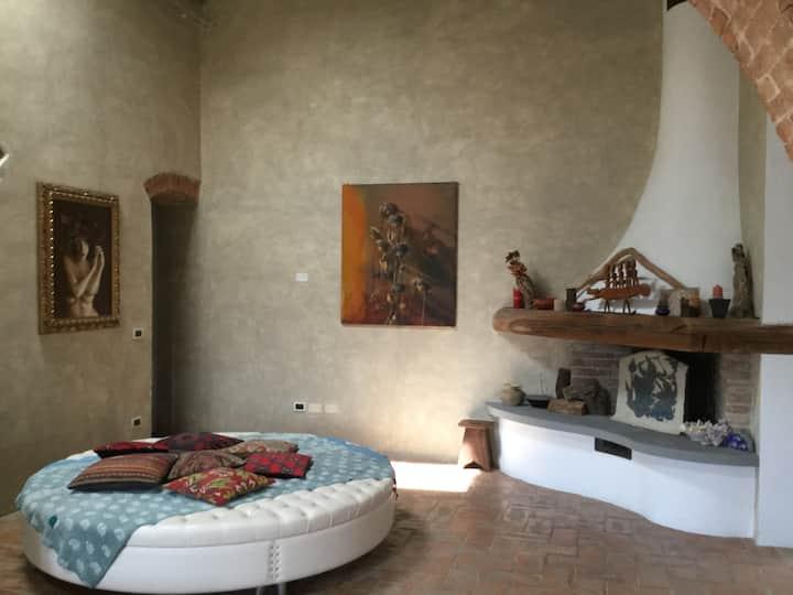 Loft in casa colonica toscana