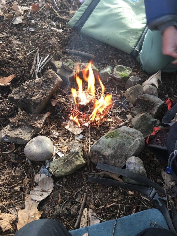 birthing fire
