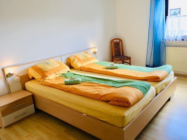 Gemütliches Doppelzimmer am Rande des Schwarzwalds
