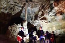 le grottes préhistorique d'Arcy sur Cure.