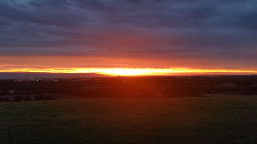 Sunset at Red Hill Views