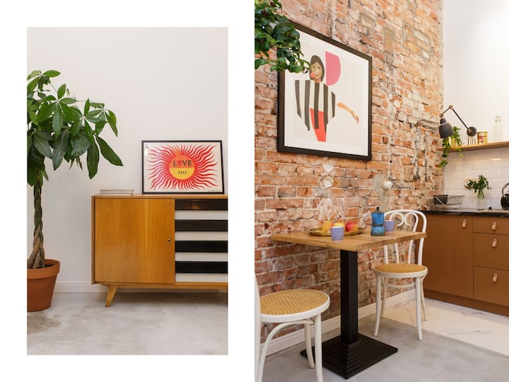 ⭐ Designer Retreat between Old Town and Kazimierz
