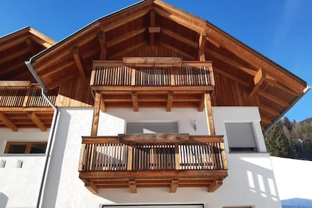 Idyllic Apartment Kronplatz with Balcony, Garden & Wi-Fi; Parking Available, Pets Allowed