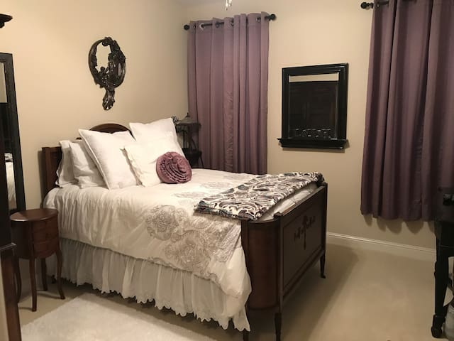 Plush and Cozy Room with Private Bathroom
