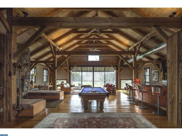 Spacious Converted Stone Barn w/ Pool