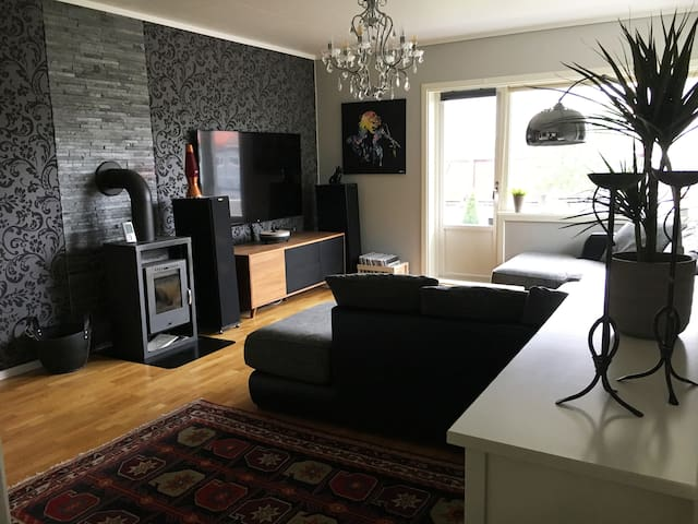 Modern apartment, close to city centre