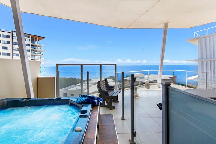 3 Bed Oceanview Penthouse Redcliffe - Redcliffe - Daire
