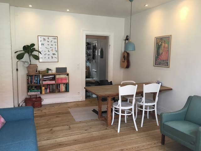 Nice and quiet apartment in the heart of Nørrebro