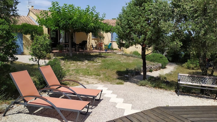 Villa with pool in the Ardeche Gorges